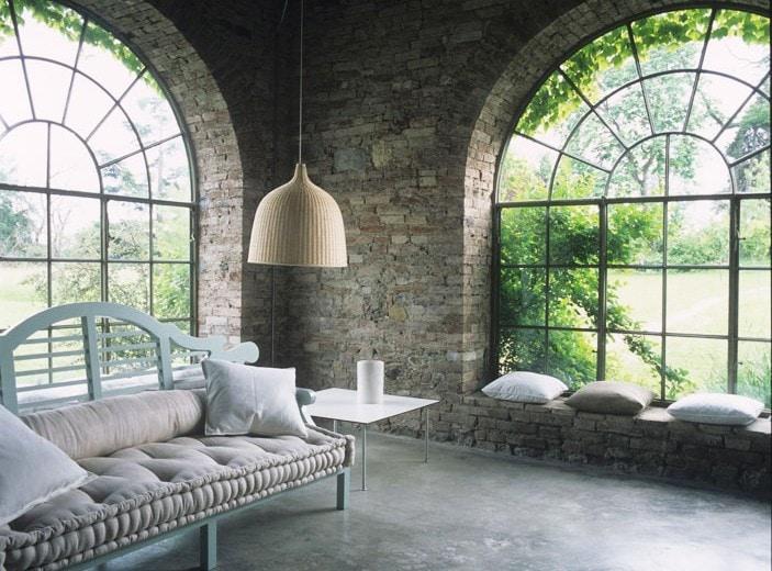 La casa sulle colline piacentine della designer Marina Sinibaldi Benatti