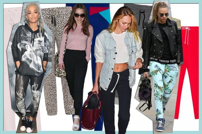Pantaloni della tuta: tendenza per il 2015?