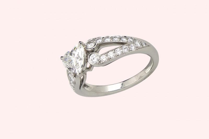 matrimonio bohémien: l'anello