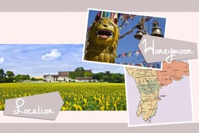 matrimonio bohémien: location e luna di miele