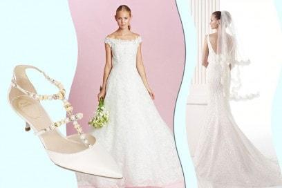 matrimonio hollywoodiano: l'abito