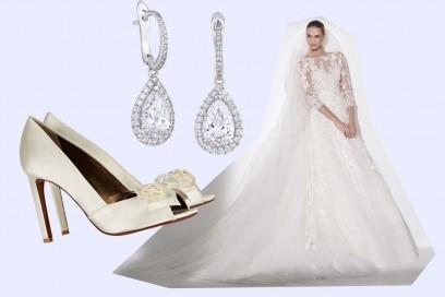 matrimonio reale: l'abito da sposa