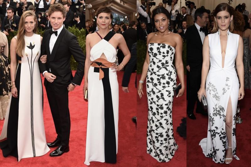 met gala 2015: black&white
