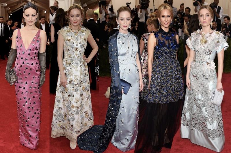 met gala 2015: embellished