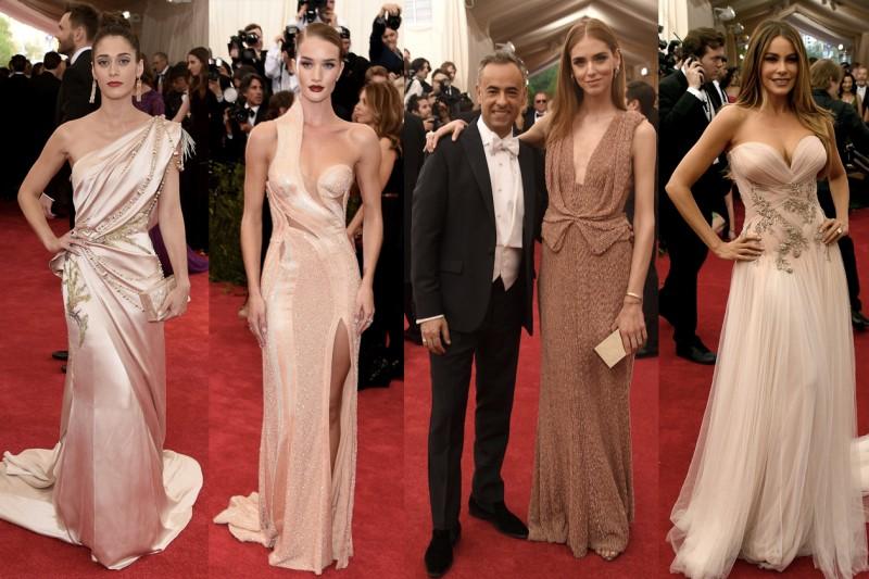 met gala 2015: nude pink