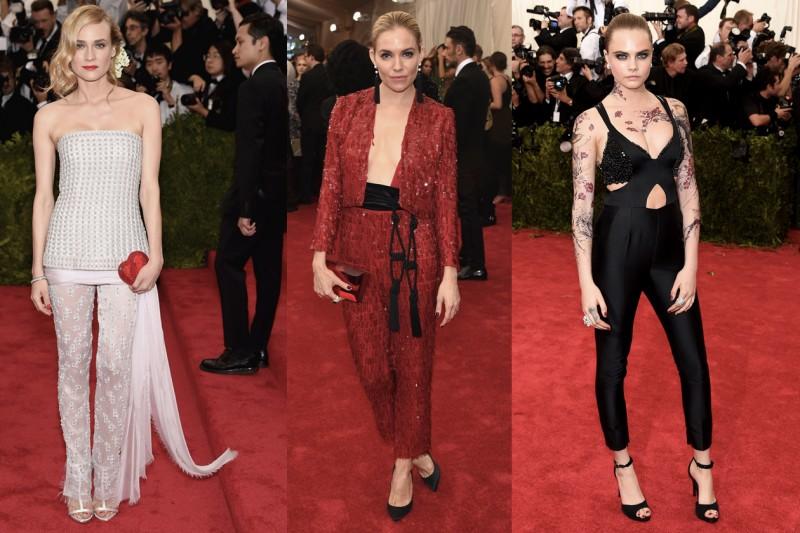 met gala 2015: pantaloni