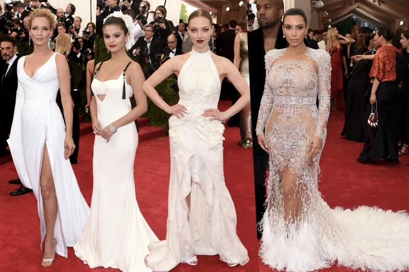 met gala 2015: total white