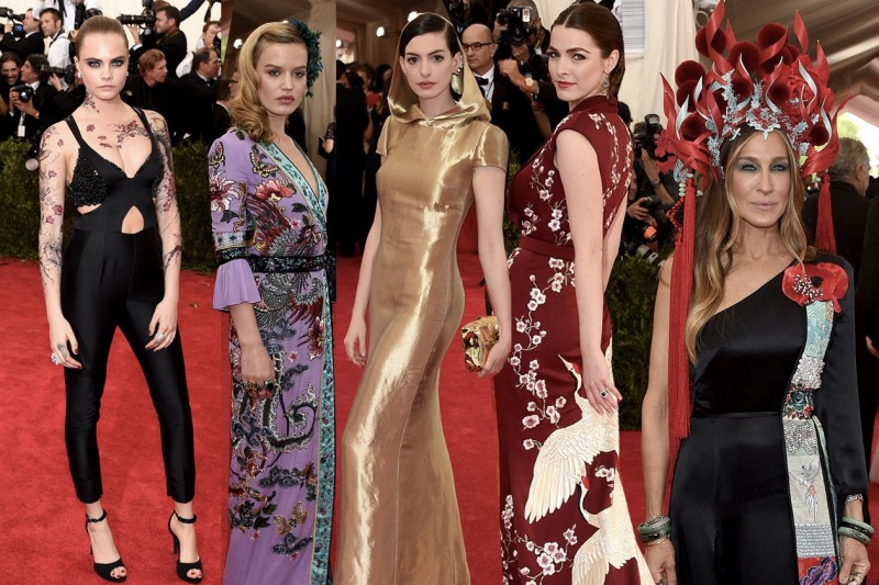 met gala 2015: tutti i vestiti delle star