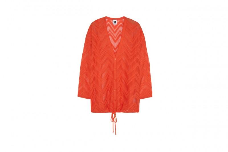 Cardigan in maglia crochet: M Missoni