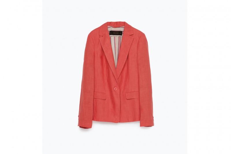 Blazer in lino: Zara
