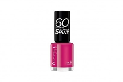 Smalti fucsia: Rimmel London 60 Seconds Super Shine Funtime Fuchsia