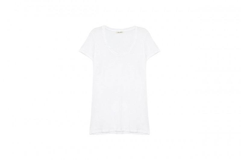t-shirt bianca: american vintage