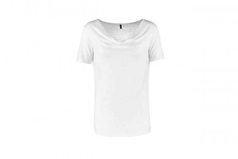 t-shirt bianca: benetton
