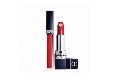 Trucco estivo per more: Dior Rouge Brillant e Rouge Dior in 999