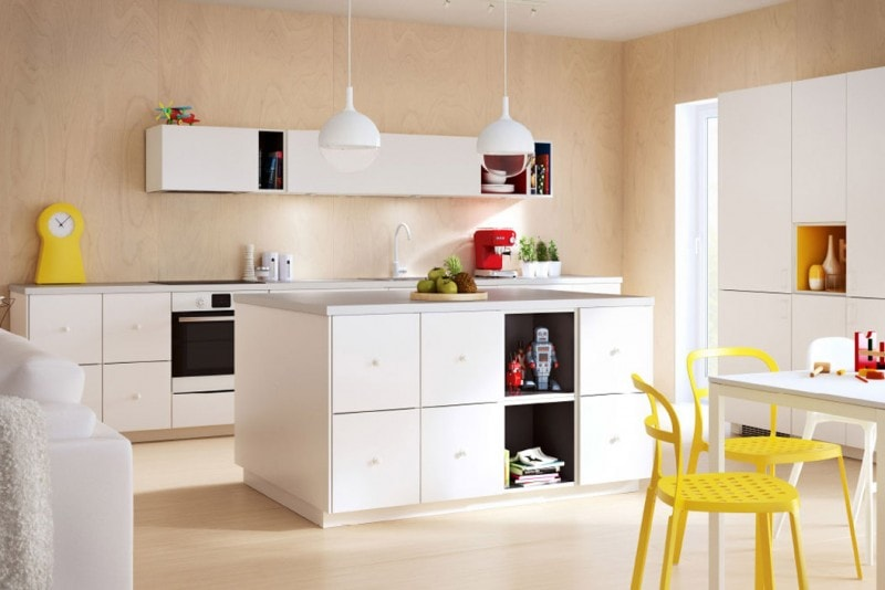 Piano Cucina In Legno Ikea : Metod la cucina libera e versatile di ikea grazia