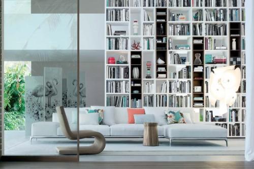 Librerie a parete: il modo più semplice e bello di arredare con i