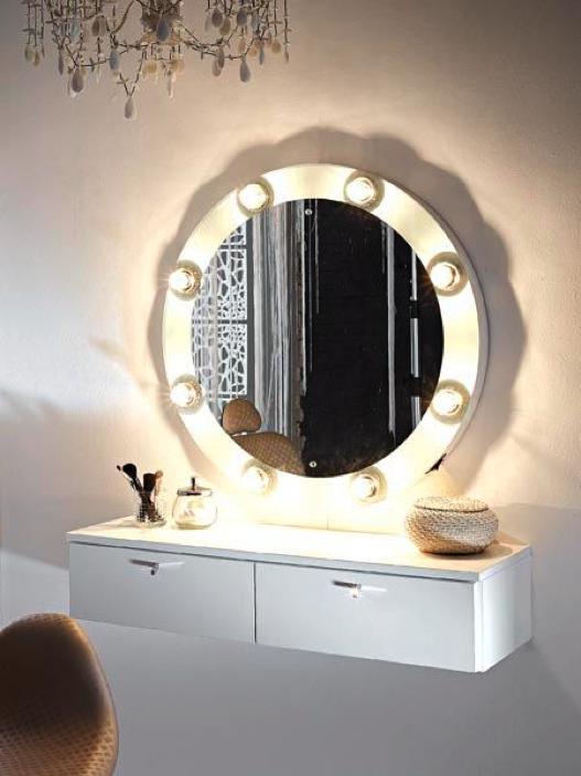 Toeletta un romantico angolo di bellezza - Mobile toeletta moderno ...