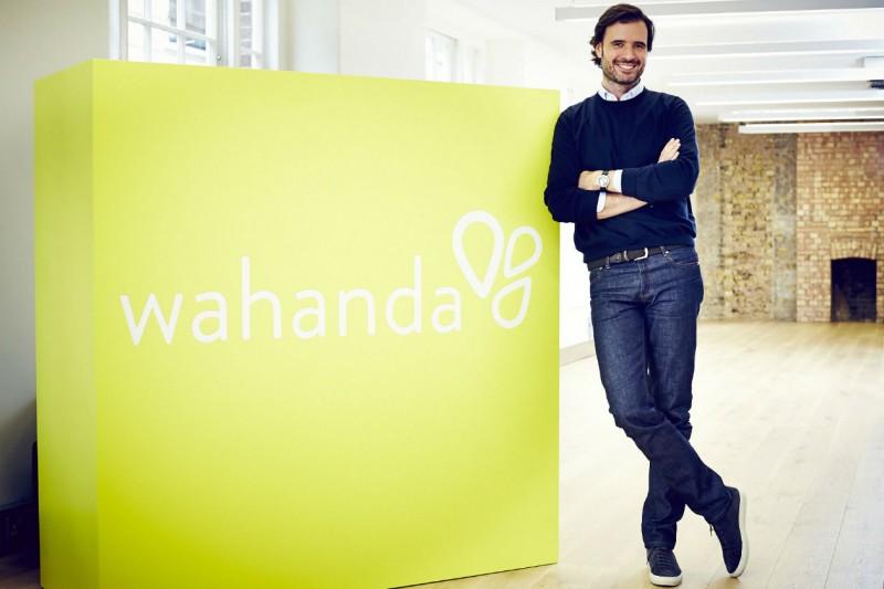 Arriva anche in Italia Wahanda, portale di prenotazione online per i trattamenti di bellezza (nella foto: il fondatore Lopo Champalimaud)