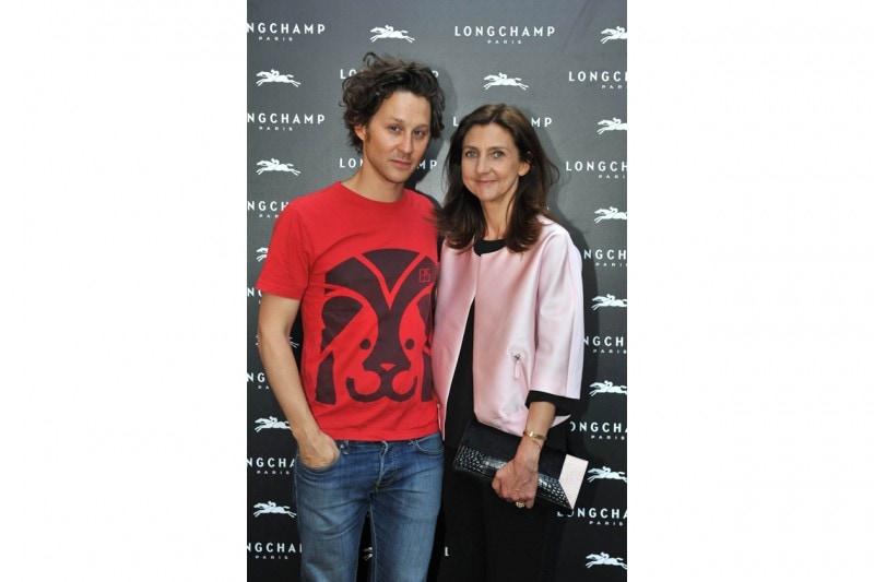 Arthur Arbesser, Sophie Delafontaine (Directrice artistique Longchamp)