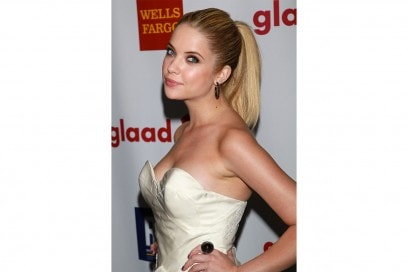Ashley Benson capelli: ponytail