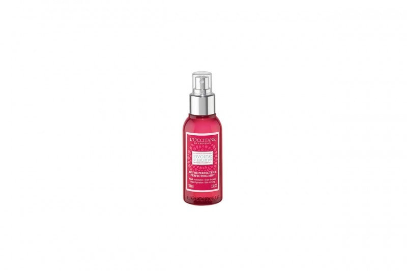 BEAUTY ROUTINE VISO IN ESTATE: RINFRESCARE CON BRUME PERFECTRICE PEONIA DE L'OCCITANE