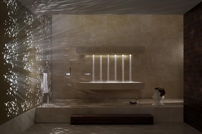 «Horizontal Shower» di Dornbracht