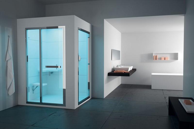 Box doccia 10 modelli tecnologici e di design - Bagno turco domestico ...