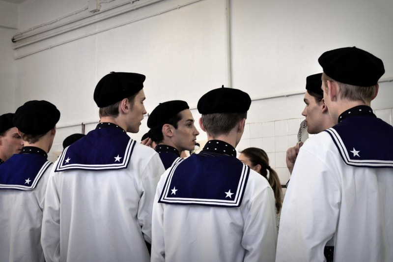 Backstage Antonio Marras: i marinai di Antonio Marras