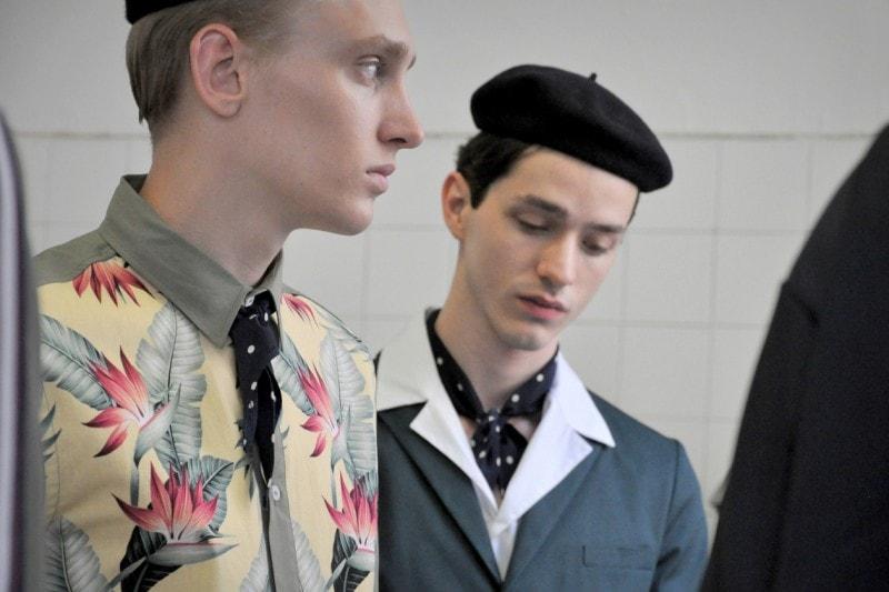 Backstage Antonio Marras: le camicie