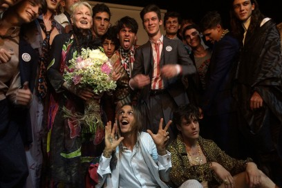 Backstage Vivienne Westwood: Finale
