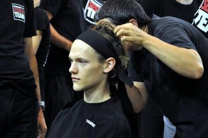 Backstage sfilata N°21: hairstyling