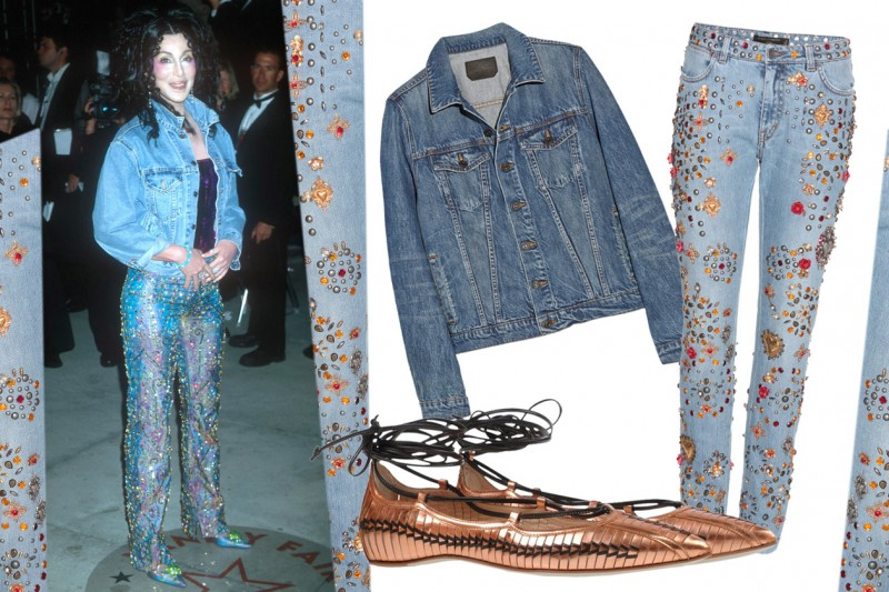 CHER LOOK 1: TOTAL DENIM