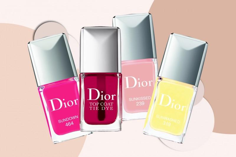 COLLEZIONI SMALTI ESTATE 2015: Dior – Tie Dye