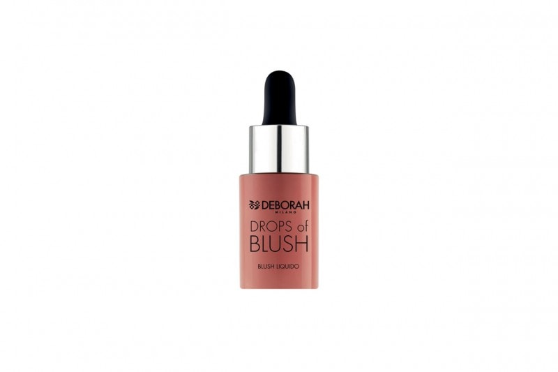 COME TRUCCARSI CON UN LOOK COLORATO EFFETTO RAINBOW: GLOWING ROSE CON DROPS OF BLUSH DI DEBORAH MILANO