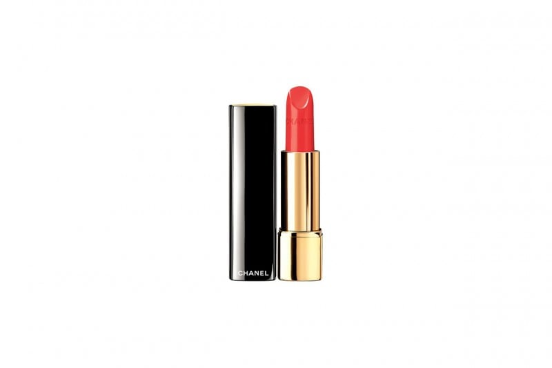 COME TRUCCARSI CON UN LOOK COLORATO EFFETTO RAINBOW: RED LIPS CON ROUGE ALLURE DI CHANEL
