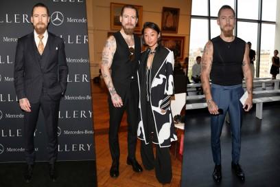 Celebrity Style. Il fashionista: Justin O'Shea