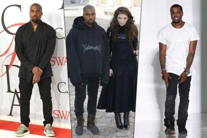 Celebrity Style. Lo sneakerhead: Kanye West