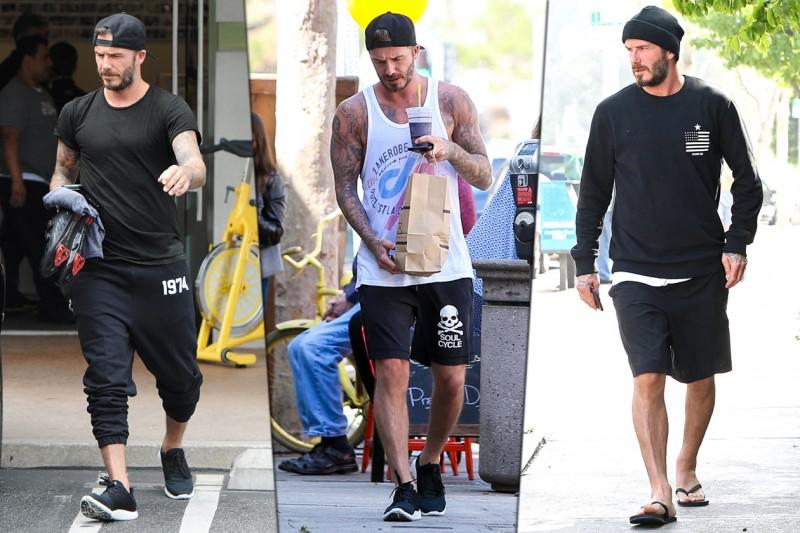 Celebrity Style. Lo sportivo: David Beckham