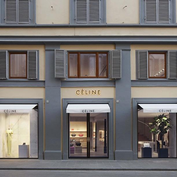 Céline apre nel centro di Firenze
