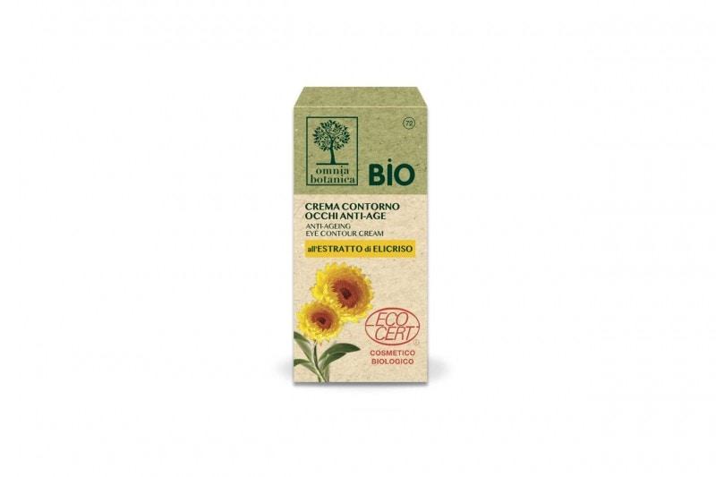 Creme contorno occhi: Omnia Botanica Crema Contorno occhi Anti-age Bio Elicriso