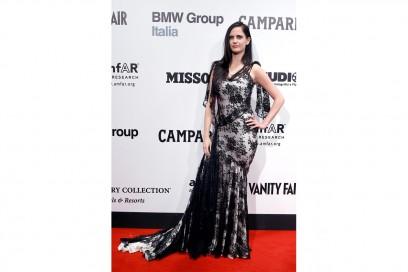 Eva Green: in abito pizzo black&white