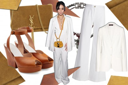 Get the Look: in total white come Vanessa Hudgens