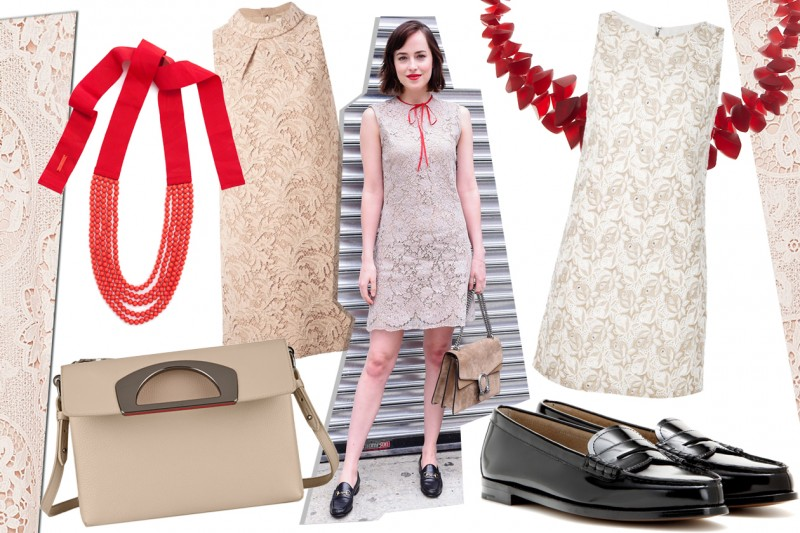 Get the look: Dakota Johnson in GUCCI