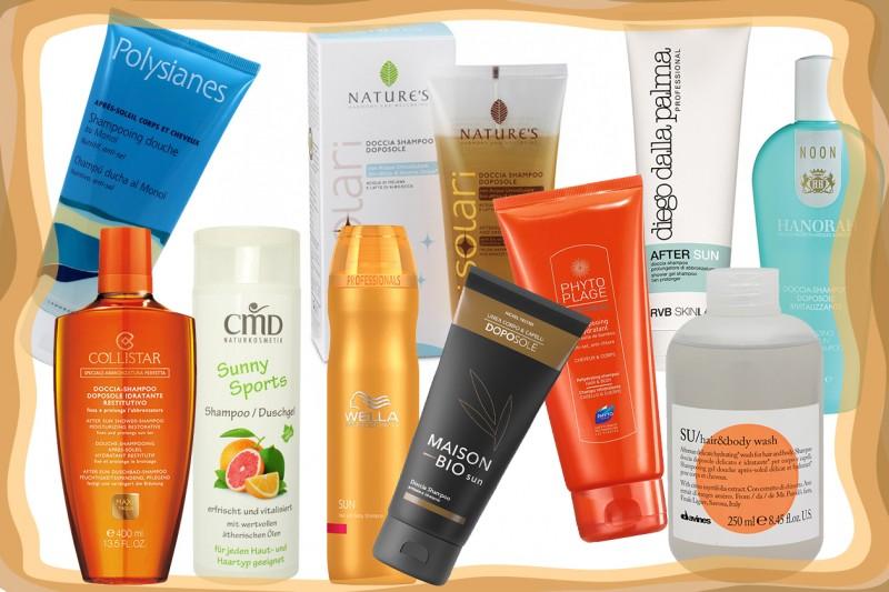 Gli shampoo-doccia doposole: scoprite i migliori prodotti con la selezione di Grazia.it