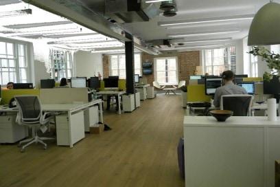 Gli uffici di Wahanda a Londra