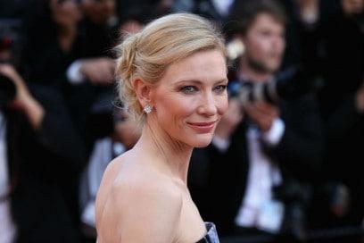 I capelli raccolti delle star: Cate Blanchett