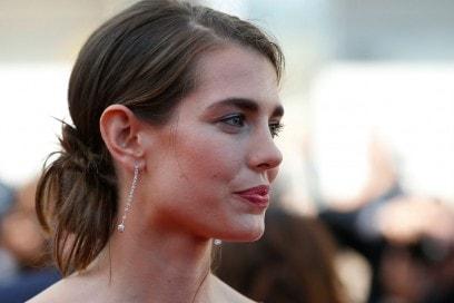 I capelli raccolti delle star: Charlotte Casiraghi