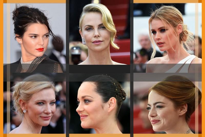 I capelli raccolti delle star: i migliori hairstyle visti sul red carpet selezionati da Grazia.it