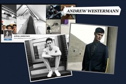 I modelli da seguire su Instagram: andrew westermann