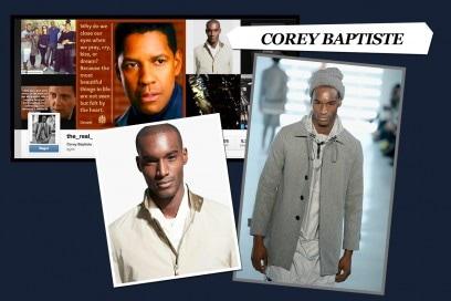 I modelli da seguire su Instagram: corey baptiste